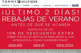 Codigos promocionales y codigos descuento en TommyHilfiger