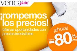 Rebajas en Venca con descuentos hasta el 80% en una amplia selección de artículos de fin de stock