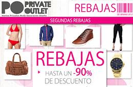 Rebajas de verano con descuentos de hasta el 90% en el outlet de moda Private Outlet