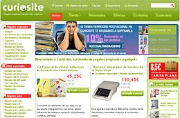 Codigo promocional Curiosite para tener un 10% de descuento adicional en esta tienda de regalos originales y gadgets, válido hasta 6-Septiembre-2009