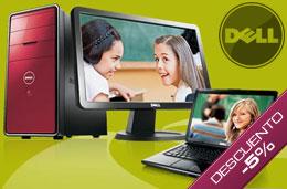 Codigos promocionales Dell y codigos descuento Dell para tener un descuento adicional en las compras de portátiles y sobremesas Studio, Inpiron y XPS