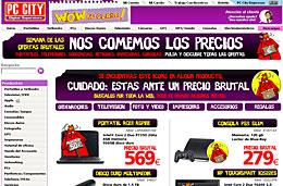 Ofertas especiales en PC City en esta Semana de las 'ofertas brutales' con descuentos especiales en toda la web, válido hasta 19-Septiembre-2009