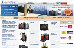 20% de descuento adicional en trolleys, mochilas y maletines con motivo de la 'Vuelta de vacaciones' en eMaletas.com, válido hasta 15-Septiembre-2009
