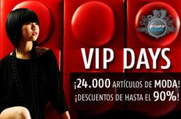 VIP days en Private Outlet con descuentos de hasta el 90% en más de 55.000 productos de moda