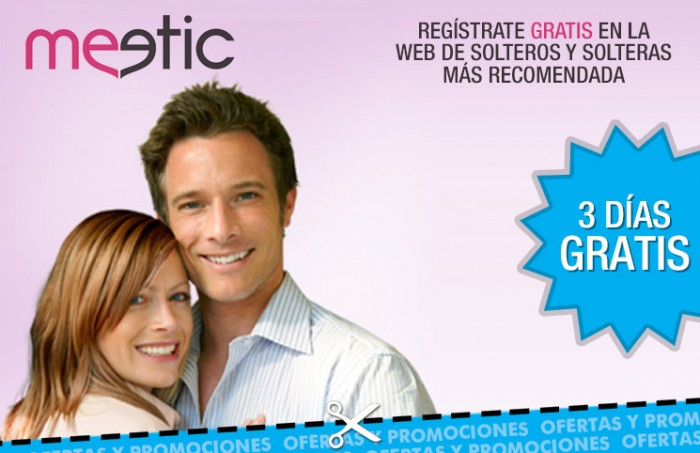 Meetic 3 días gratis