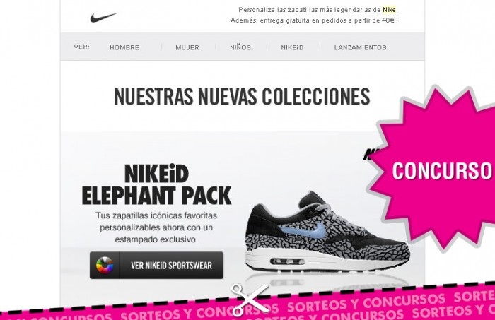 Sorteo en Nike ID durante el mundial de Sudamerica