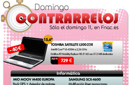 Ofertas Fnac.es y descuentos en el Domingo Contrarreloj