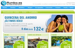Chollos de viajes de 8 días desde 132€ en la Quincena del ahorro de Rumbo