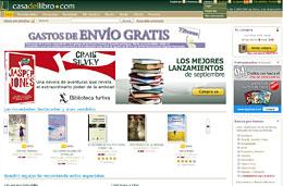ofertas de libros con gastos de envio gratis en casa del libro