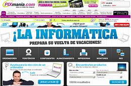 Rebajas Pixmania.com y descuentos especiales