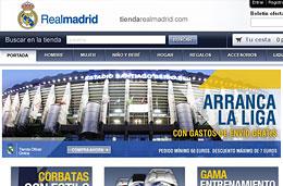 Gastos de envío gratis durante 3 días en la tienda online oficial del Real Madrid