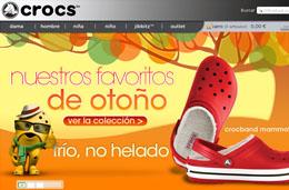 Codigos promocionales para la tienda online de calzado Crocs