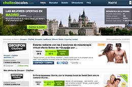 Compras colectivas y descuentos en ChollosLocales.com