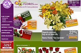 Codigo descuento Maxima Flores de un 15% de ahorro en ramos de flores y bouquets
