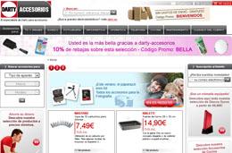 Codigo descuento Darty Accesorios para ahorrar un 10% en las compras online