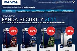 Codigo promocional Panda Security en todas sus soluciones antivirus