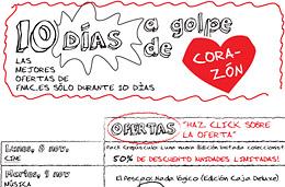 Ofertas Fnac.es y descuentos en los Diez dias a golpe de corazon