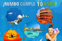 Concurso de Viajes en Rumbo.es