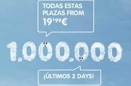 Vuelos economicos con Vueling: Billetes baratos a 19,99 euros