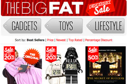 Regalos originales rebajados en las rebajas 'The Big Fat' de Firebox con descuentos de hasta el 50%