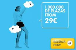 Nuevo especial de chollos en Vueling con otro millón de plazas para viajar desde 29€