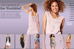 Codigo promocional en LaRedoute para tener un 20% de descuento adicional en vestidos