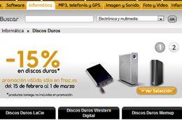 Ofertas Fnac, 15% descuento en sus discos duros