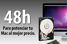 Codigo promocional en Macnificos para tener un 5% de descuento adicional en discos duros y memorias