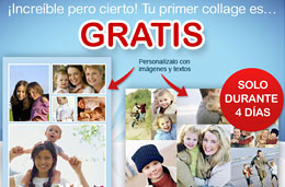 codigo descuento photobox de un collage de fotos gratis