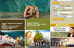 Codigos promocionales para Vincci Hotels con descuentos de hasta el 15% y noches 4x3 gratis