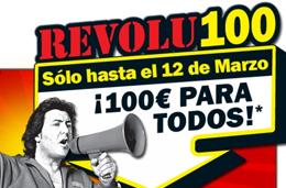 REVOLU100 de MediaMarkt con cheques regalo de 100€
