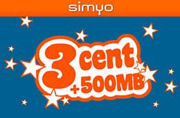Simyo celebra su aniversario lanzando una rompedora tarifa móvil de 3 cént/min y 500Mb de datos gratis