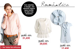 Codigo promocional en La Redoute para comprar tus blusas con un 30% de descuento adicional