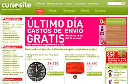 Curiosite ofrece gastos de envío gratis en toda su tienda de regalos originales por tiempo limitado