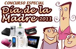 Participa en nuestro Concurso Día de la Madre 2011 y consigue uno de los 8 regalos patrocinados por Pixmania