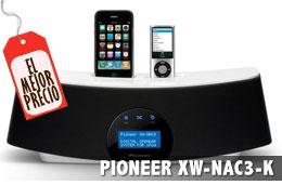 El mejor precio de los altavoces Pioneer XW-NAC3 con doble dock para iPod/iPhone