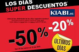 Los días Super Descuentos de Kiabi llegan a su fin con  rebajas de hasta el 50% por tiempo limitado