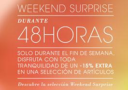 Rebajas de moda durante 48h en la tienda online Yoox con un -15% y su 'Weekend Surprise'