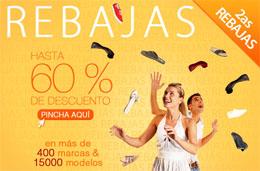 Rebajas de zapatos en Spartoo con descuentos de hasta el 70%