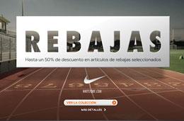 Rebajas Nike con descuentos de hasta el 50% en NikeStore
