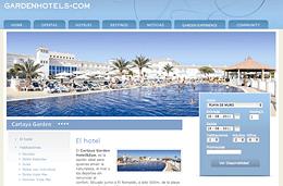Codigo promocional en Garden Hotels para tener un 22% de descuento adicional en el Cartaya Garden Hotel de Andalucía