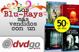Aniversario DVDGo con los Blu-Rays más vendidos de 2011 a mitad de precio