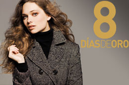 8 Días de Oro en El Corte Inglés: Del 4 al 20 de noviembre de 2011 con ofertas exclusivas