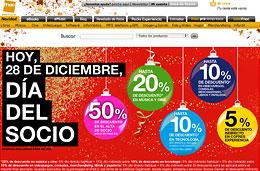 Día del socio Fnac hoy 28 de diciembre con descuentos especiales en todas sus secciones