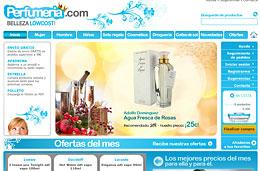 Ofertas de perfumes de primeras marcas con descuentos de hasta el 70% y envíos en 24h con Perfumeria.com