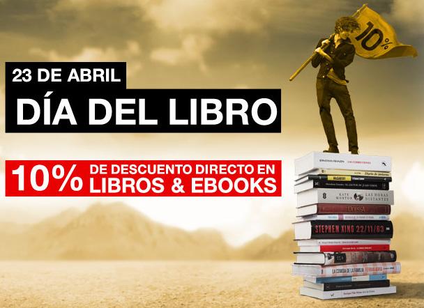 Ofertas Dia del Libro: Descuentos y promociones para ahorrar en las diferentes tiendas online