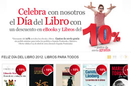 Ofertas Dia del Libro en Casa del Libro