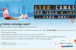 Super oferta de hostales. 500 camas por sólo 0,30€ en HostelBookers