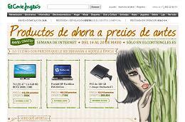 Semana de Internet en El Corte Inglés con productos de ahora a precios de antes