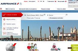 Air France elimina gastos de gestión ofreciendo precio mínimo garantizado